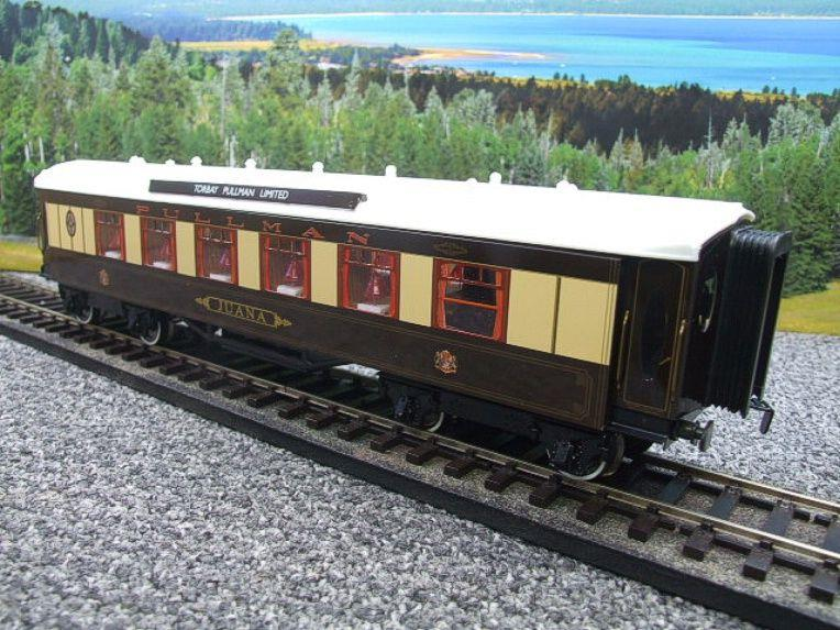 "Darstaed O Gauge Parlour 1st ""JUANA"" Ivory Roof Pullman Coach Boxed image 11"