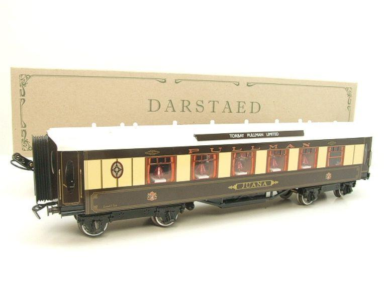 "Darstaed O Gauge Parlour 1st ""JUANA"" Ivory Roof Pullman Coach Boxed image 15"