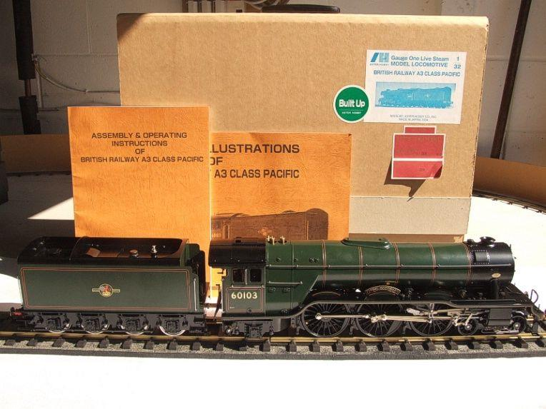"Gauge 1 Aster BR Green A3 Class Pacific ""Flying Scotsman"" R/N 60103 Live Steam MINT Boxed image 21"