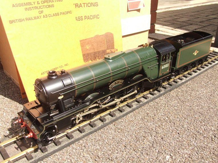 "Gauge 1 Aster BR Green A3 Class Pacific ""Flying Scotsman"" R/N 60103 Live Steam MINT Boxed image 22"