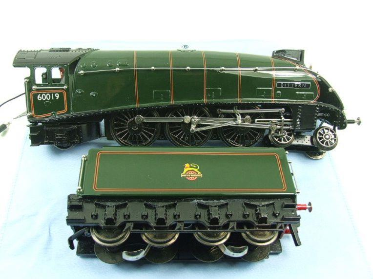 "Ace Trains O Gauge E4 A4 Pacific BR Green ""Bittern"" R/N 60019 Electric 3 Rail Boxed image 14"