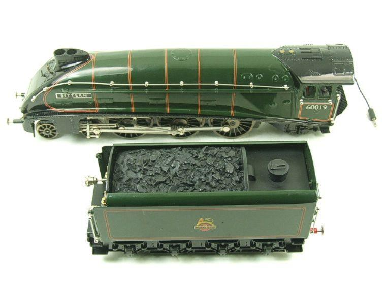 "Ace Trains O Gauge E4 A4 Pacific BR Green ""Bittern"" R/N 60019 Electric 3 Rail Boxed image 16"