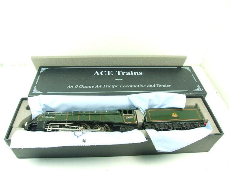 "Ace Trains O Gauge E4 A4 Pacific BR Green ""Bittern"" R/N 60019 Electric 3 Rail Boxed image 20"