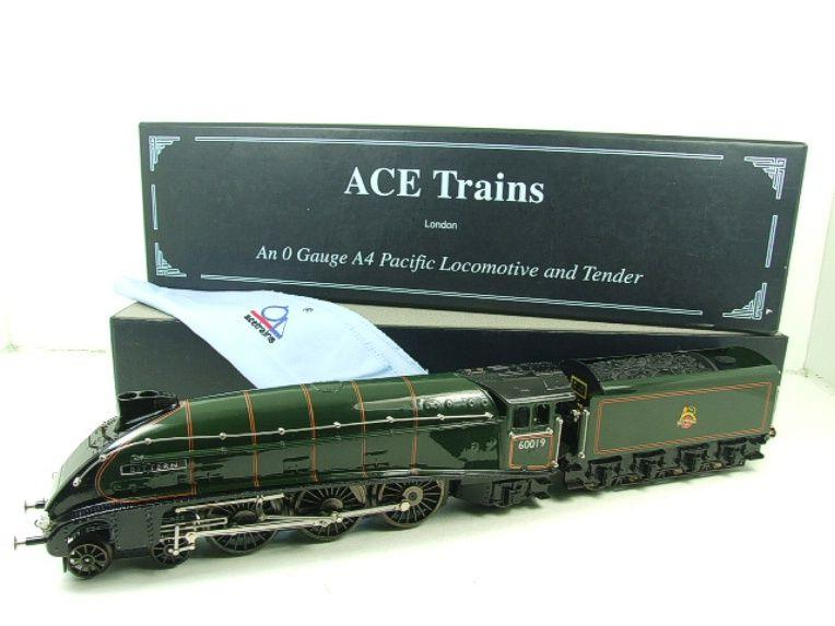"Ace Trains O Gauge E4 A4 Pacific BR Green ""Bittern"" R/N 60019 Electric 3 Rail Boxed image 22"