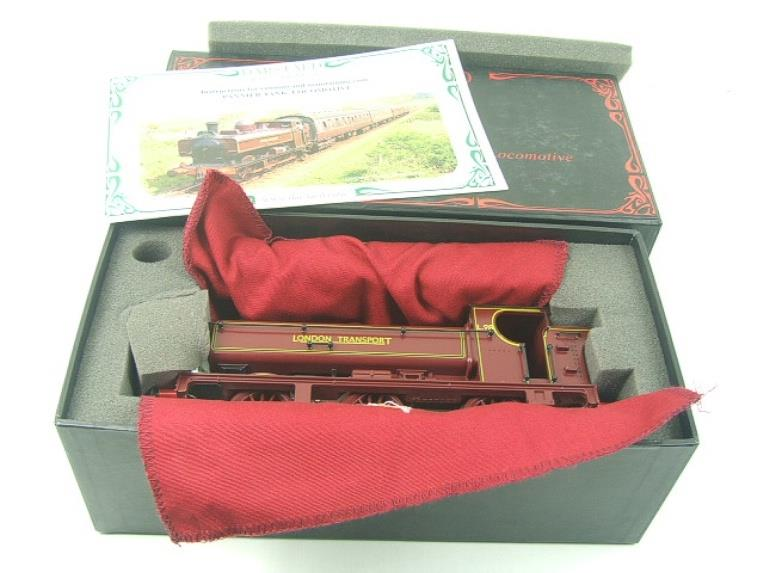 "Darstaed O Gauge ""London Transport"" Pannier Tank Loco L.98 Electric 3 Rail Boxed image 11"