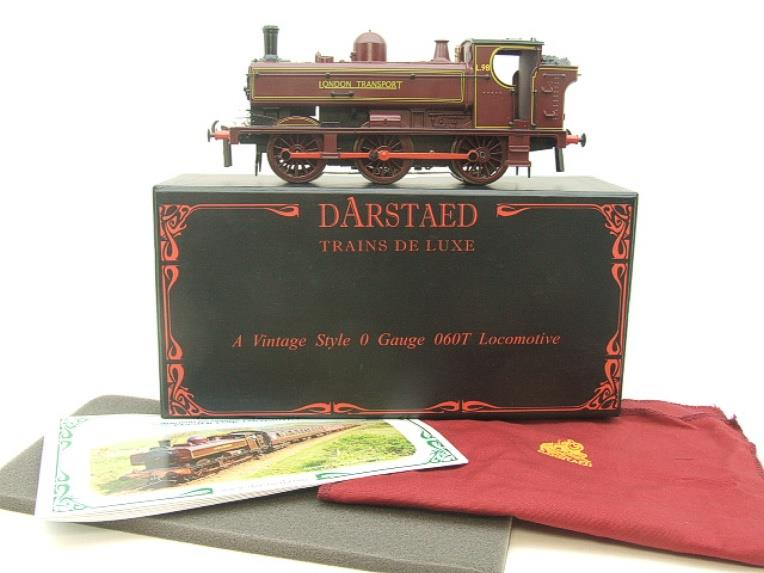 "Darstaed O Gauge ""London Transport"" Pannier Tank Loco L.98 Electric 3 Rail Boxed image 14"