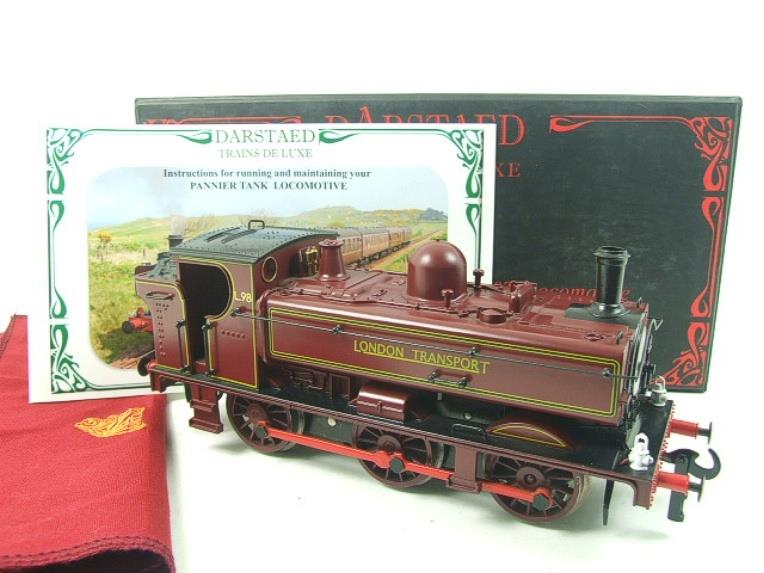 "Darstaed O Gauge ""London Transport"" Pannier Tank Loco L.98 Electric 3 Rail Boxed image 15"