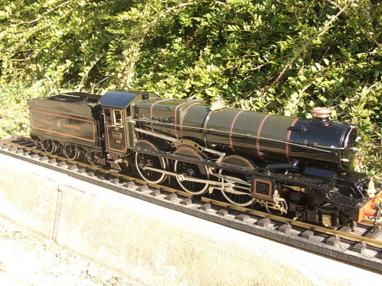 "Gauge 1 Aster GWR King Class ""King George V"" R/N 6000 Live Steam F/Built As New Boxed image 11"