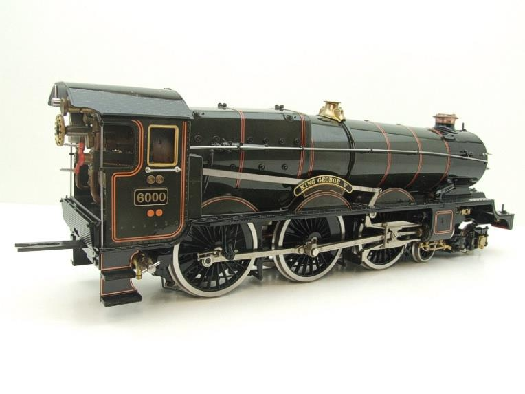 "Gauge 1 Aster GWR King Class ""King George V"" R/N 6000 Live Steam F/Built As New Boxed image 16"