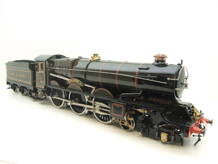"Gauge 1 Aster GWR King Class ""King George V"" R/N 6000 Live Steam F/Built As New Boxed image 17"