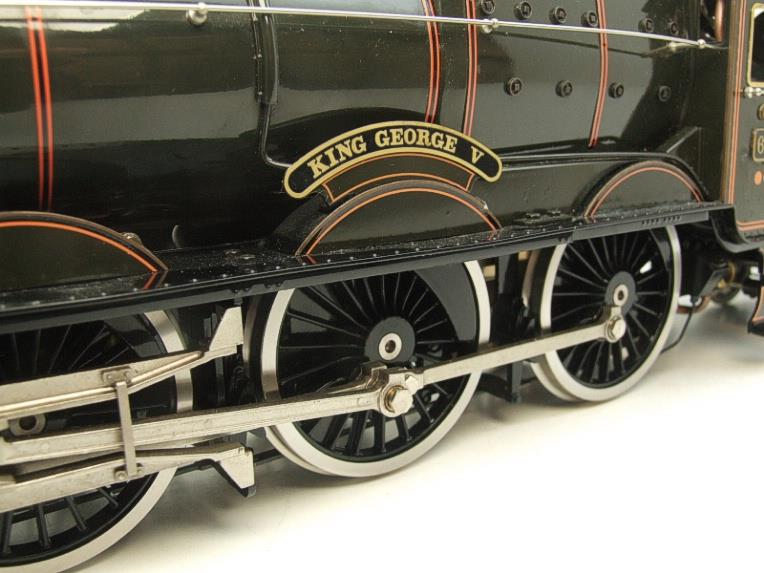 "Gauge 1 Aster GWR King Class ""King George V"" R/N 6000 Live Steam F/Built As New Boxed image 18"