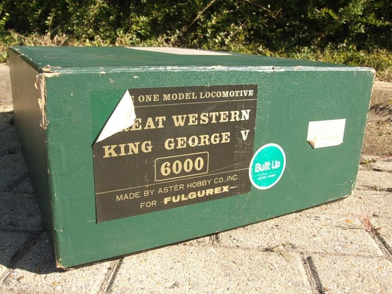 "Gauge 1 Aster GWR King Class ""King George V"" R/N 6000 Live Steam F/Built As New Boxed image 19"