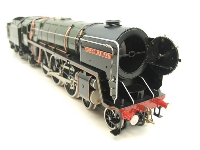 "Ace Trains O Gauge E27D BR Green Britannia Class ""William Shakespeare"" FOB Edition"" R/N 70004 Bxd image 20"