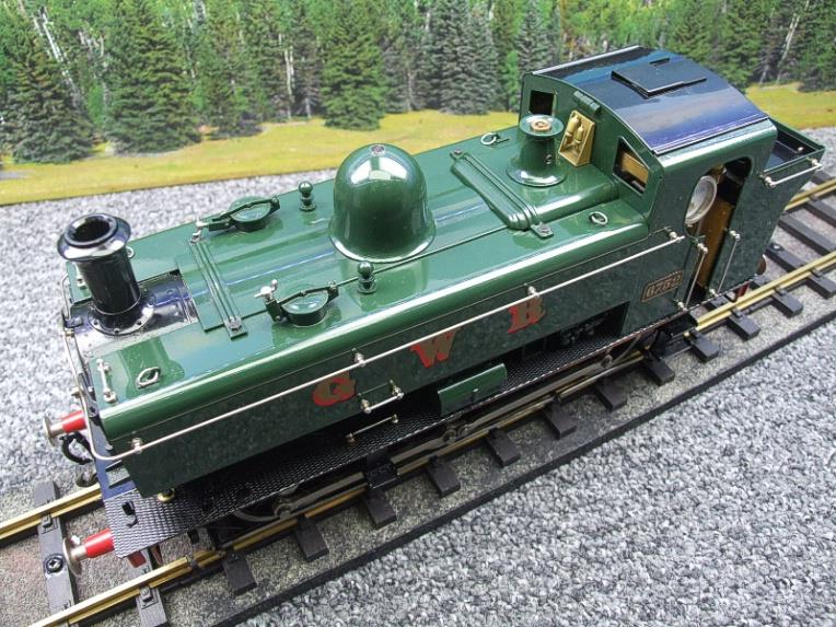 Gauge 1 Aster GWR Green Class 5700 Pannier Tank Loco R/N 6752 Insulated Wheels Ed Live Steam image 11