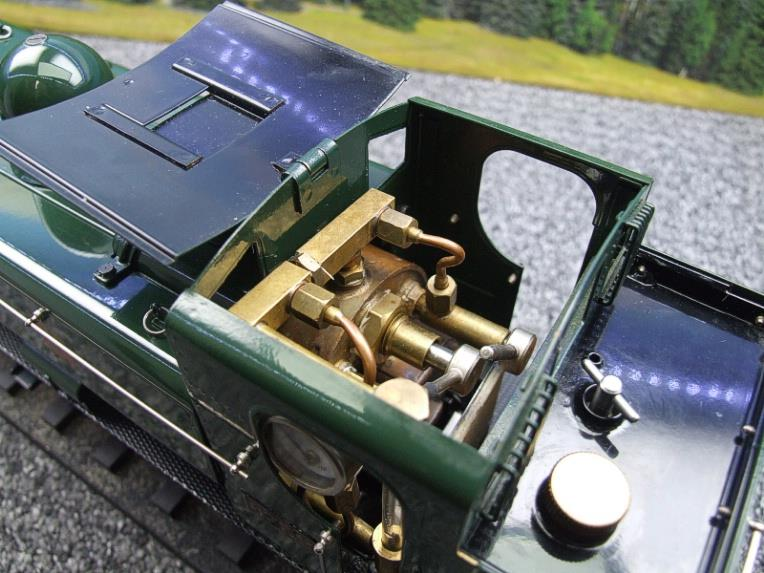 Gauge 1 Aster GWR Green Class 5700 Pannier Tank Loco R/N 6752 Insulated Wheels Ed Live Steam image 12