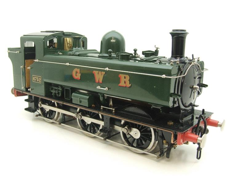 Gauge 1 Aster GWR Green Class 5700 Pannier Tank Loco R/N 6752 Insulated Wheels Ed Live Steam image 16