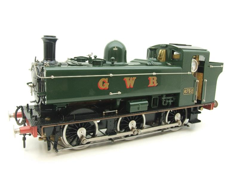 Gauge 1 Aster GWR Green Class 5700 Pannier Tank Loco R/N 6752 Insulated Wheels Ed Live Steam image 17