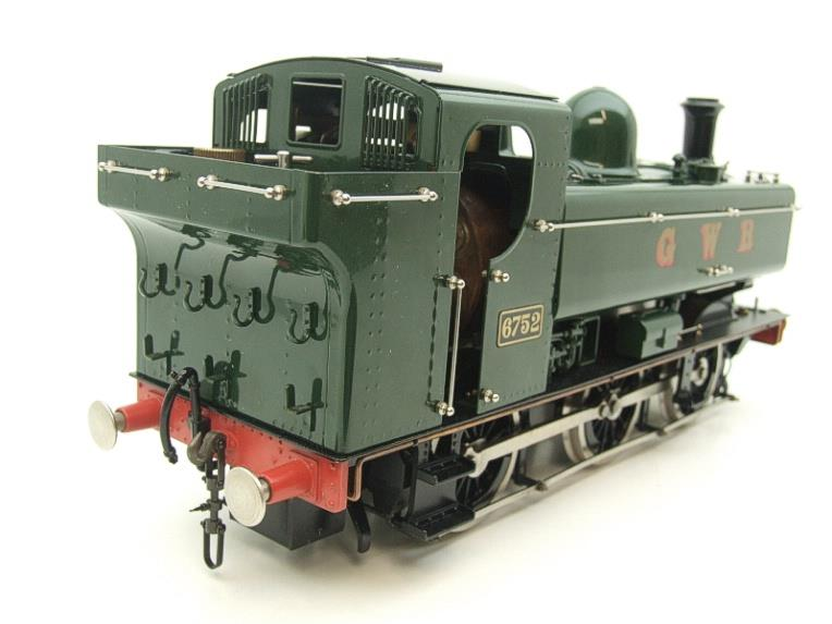Gauge 1 Aster GWR Green Class 5700 Pannier Tank Loco R/N 6752 Insulated Wheels Ed Live Steam image 19