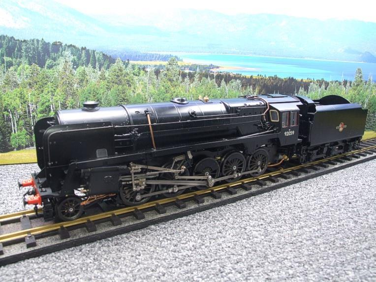 Gauge 1 Aster Accucraft BR Black Class 9F 2-10-0 Loco & Tender R/N 92059 Live Steam As New image 11