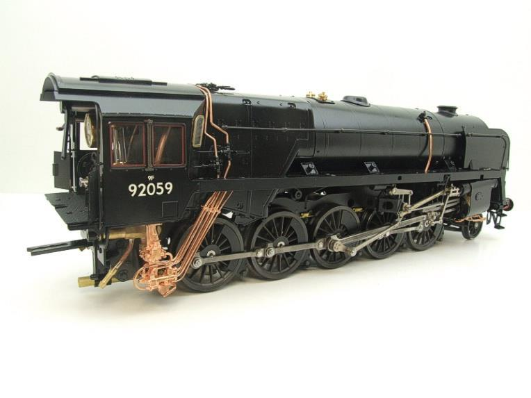 Gauge 1 Aster Accucraft BR Black Class 9F 2-10-0 Loco & Tender R/N 92059 Live Steam As New image 14
