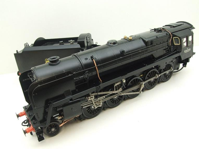 Gauge 1 Aster Accucraft BR Black Class 9F 2-10-0 Loco & Tender R/N 92059 Live Steam As New image 17