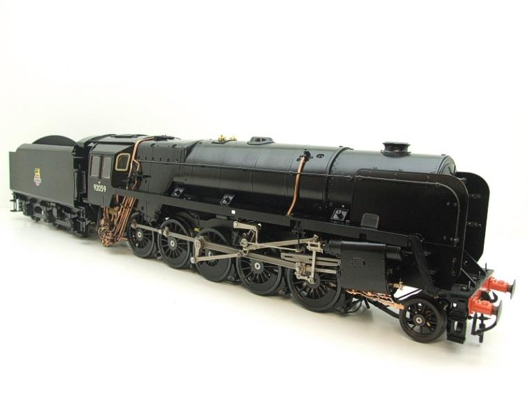 Gauge 1 Aster Accucraft BR Black Class 9F 2-10-0 Loco & Tender R/N 92059 Live Steam As New image 18