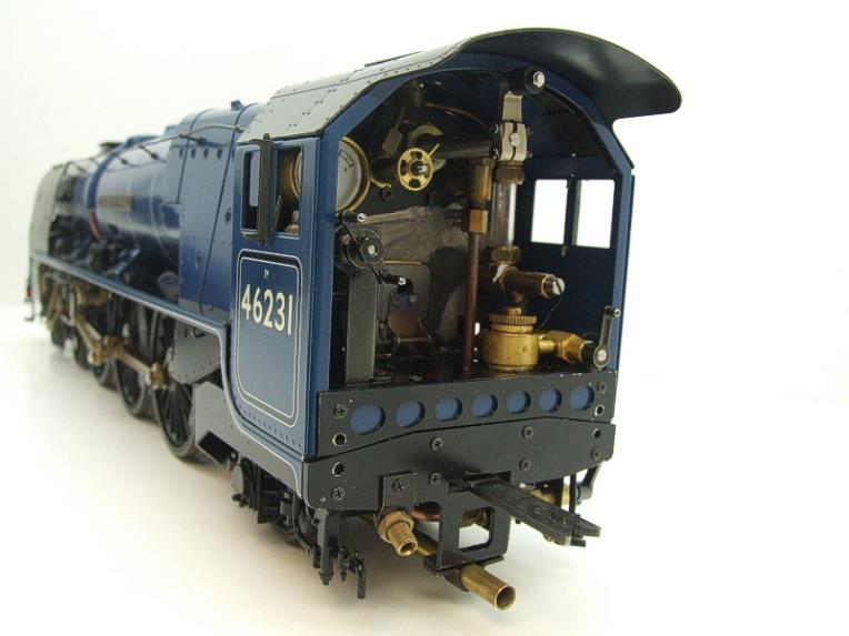 "Gauge 1 Aster BR Blue Duchess Class ""Duchess of Atholl"" R/N 46231 Live Steam Boxed image 12"