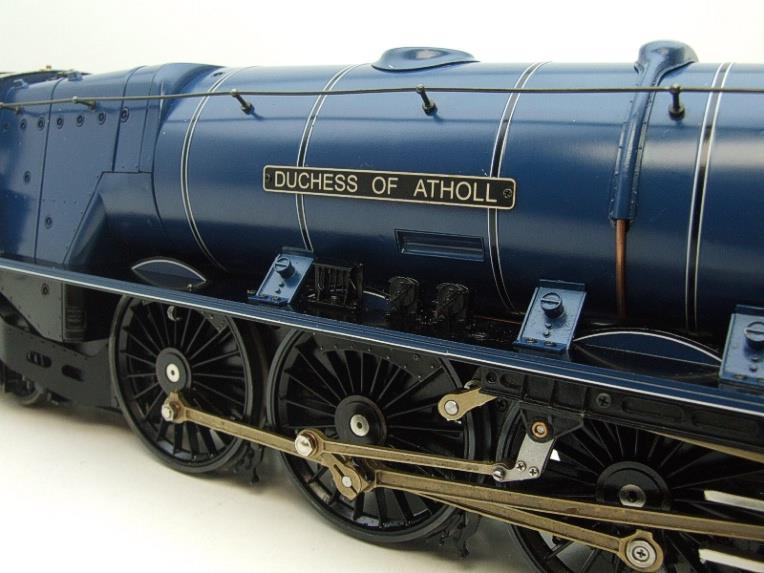 "Gauge 1 Aster BR Blue Duchess Class ""Duchess of Atholl"" R/N 46231 Live Steam Boxed image 15"