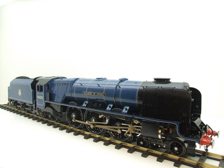 "Gauge 1 Aster BR Blue Duchess Class ""Duchess of Atholl"" R/N 46231 Live Steam Boxed image 18"