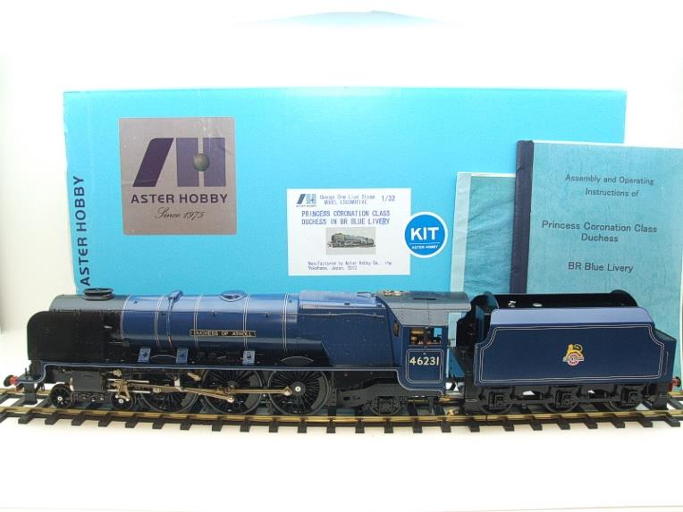 "Gauge 1 Aster BR Blue Duchess Class ""Duchess of Atholl"" R/N 46231 Live Steam Boxed image 22"