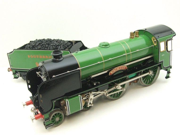 "Gauge 1 Aster SR ""Southern"" 4-4-0 Schools Class ""Winchester"" R/N 901 Live Steam Unsteamed image 11"