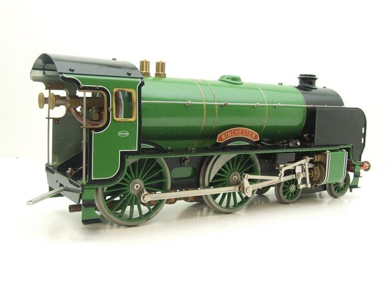 "Gauge 1 Aster SR ""Southern"" 4-4-0 Schools Class ""Winchester"" R/N 901 Live Steam Unsteamed image 13"