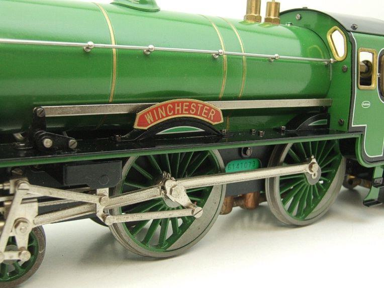 "Gauge 1 Aster SR ""Southern"" 4-4-0 Schools Class ""Winchester"" R/N 901 Live Steam Unsteamed image 17"