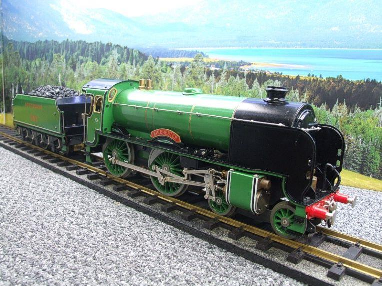 "Gauge 1 Aster SR ""Southern"" 4-4-0 Schools Class ""Winchester"" R/N 901 Live Steam Unsteamed image 20"