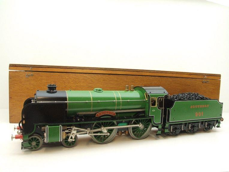 "Gauge 1 Aster SR ""Southern"" 4-4-0 Schools Class ""Winchester"" R/N 901 Live Steam Unsteamed image 22"