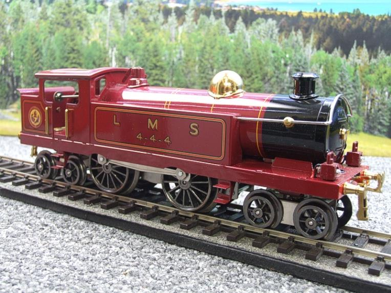 "Ace Trains O Gauge ELM 1 ""LMS"" Maroon  4-4-4 Tank Loco R/N 4-4-4 Electric 3 Rail Mint Boxed image 11"
