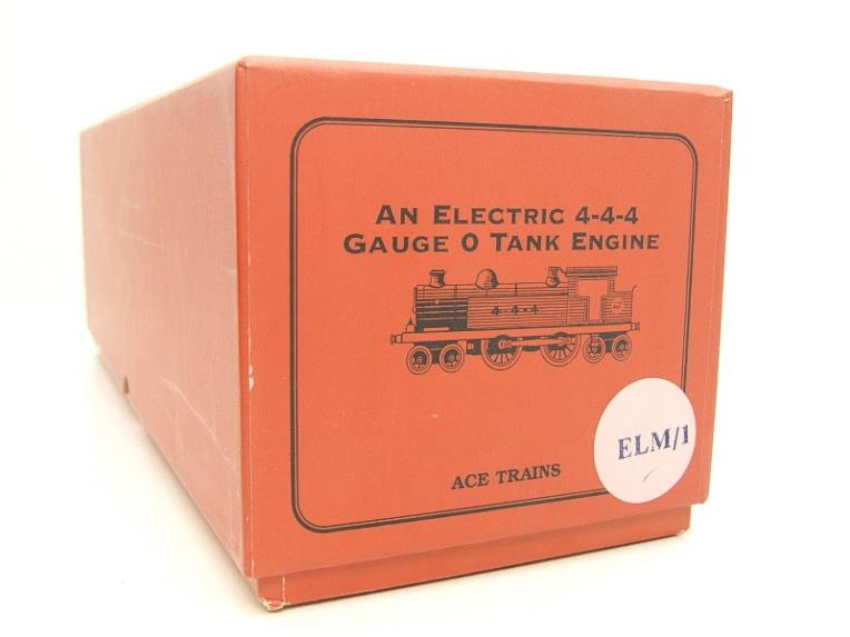 "Ace Trains O Gauge ELM 1 ""LMS"" Maroon  4-4-4 Tank Loco R/N 4-4-4 Electric 3 Rail Mint Boxed image 14"
