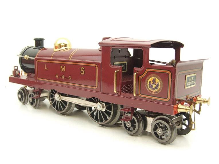 "Ace Trains O Gauge ELM 1 ""LMS"" Maroon  4-4-4 Tank Loco R/N 4-4-4 Electric 3 Rail Mint Boxed image 19"