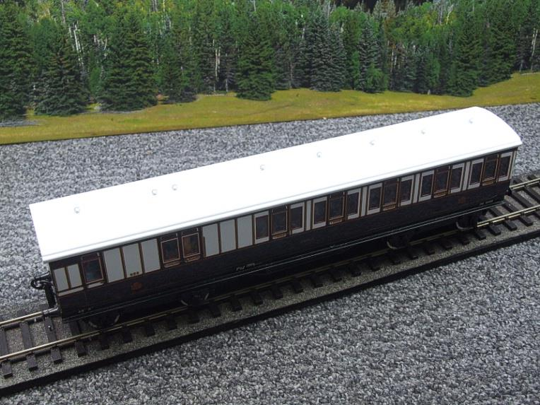 "Darstead O Gauge ""LNWR"" All 3rd Passenger Brake Coach 2/3 Rail running image 11"