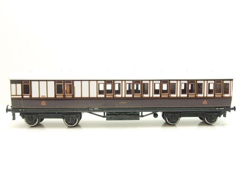 "Darstead O Gauge ""LNWR"" All 3rd Passenger Brake Coach 2/3 Rail running image 13"