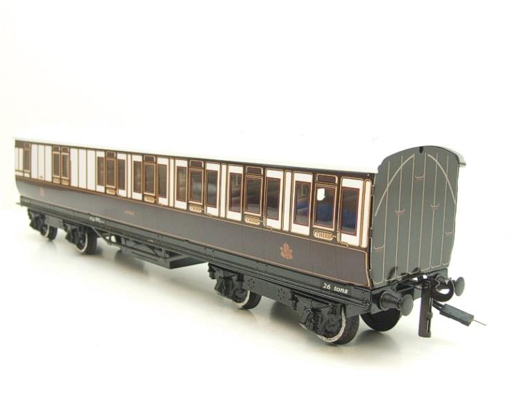 "Darstead O Gauge ""LNWR"" All 3rd Passenger Brake Coach 2/3 Rail running image 14"