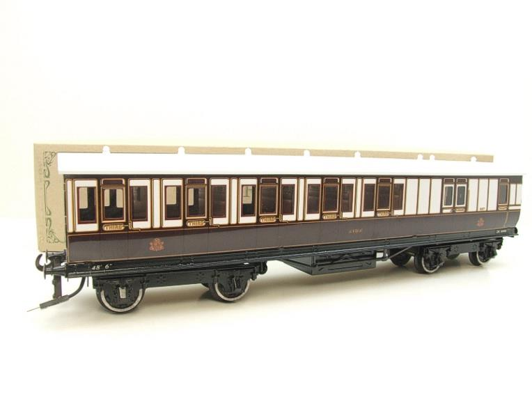 "Darstead O Gauge ""LNWR"" All 3rd Passenger Brake Coach 2/3 Rail running image 15"
