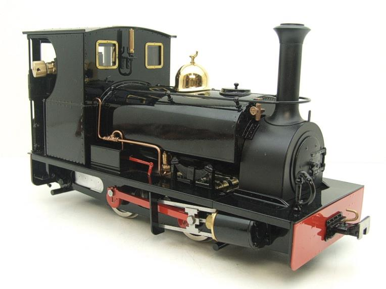 "G Scale  Roundhouse 45mm Gauge Brass, Black, 0-4-0T ""Lilla"" Saddle Tank Loco Live Steam New Bxd image 12"