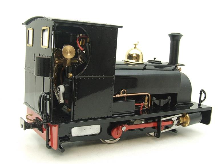 "G Scale  Roundhouse 45mm Gauge Brass, Black, 0-4-0T ""Lilla"" Saddle Tank Loco Live Steam New Bxd image 18"
