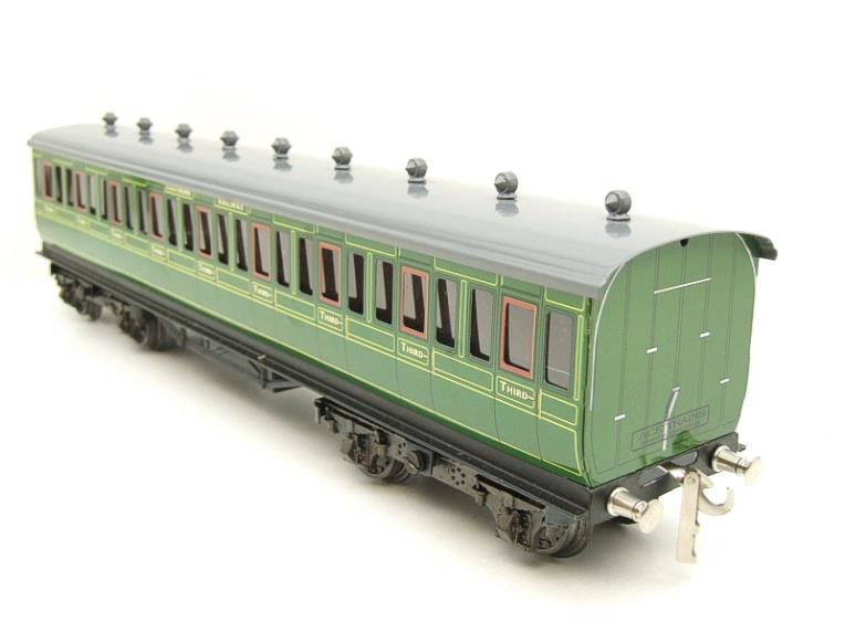 "Ace Trains O Gauge C1 Southern SR ""Southern"" Green x3 NC Passenger Coaches Set image 14"