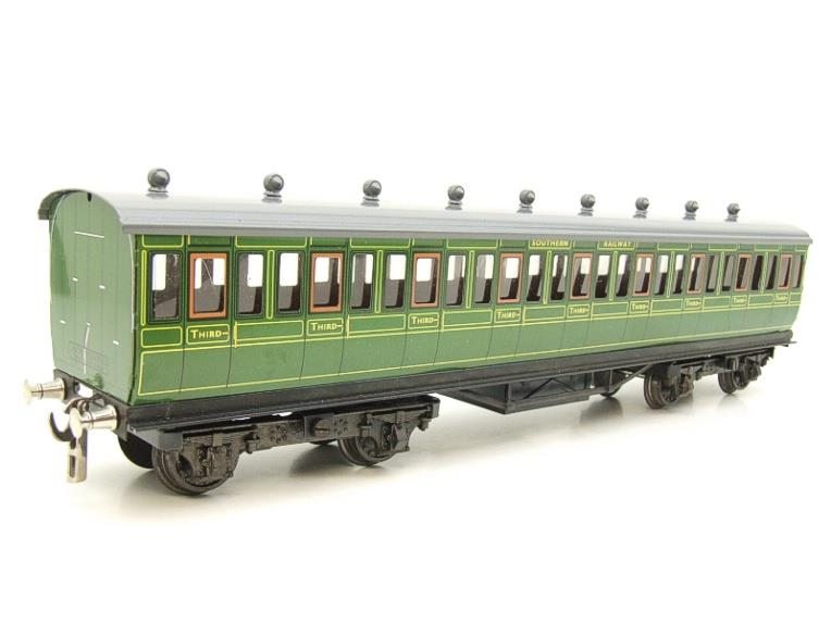 "Ace Trains O Gauge C1 Southern SR ""Southern"" Green x3 NC Passenger Coaches Set image 19"