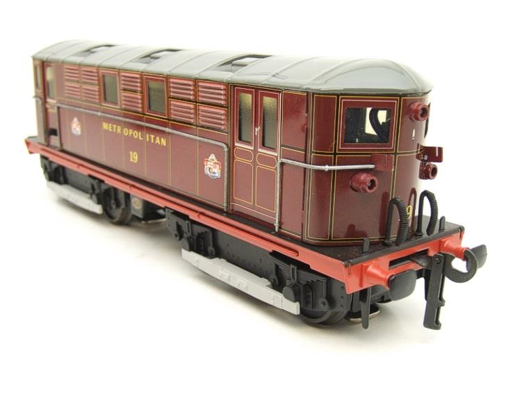 "Ace Trains O Gauge E17, Metropolitan Vickers Bo-Bo ""Metropolitan"" Loco No 19, Electric 2/3 Rail image 14"