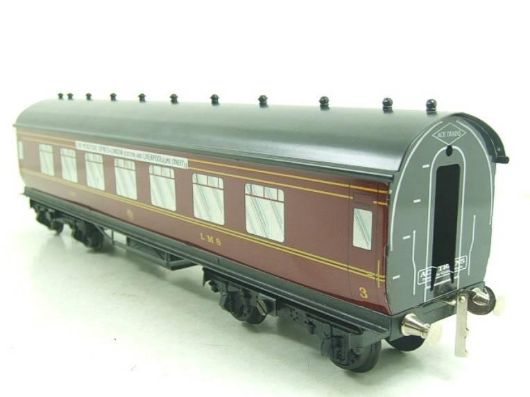 "Ace Trains O Gauge LMS C2 ""Merseyside Express"" Tinplate Coaches x5 Set Boxed image 12"