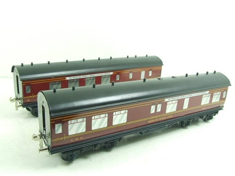 "Ace Trains O Gauge LMS C2 ""Merseyside Express"" Tinplate Coaches x5 Set Boxed image 13"