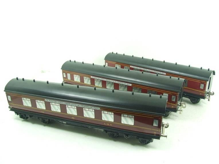 "Ace Trains O Gauge LMS C2 ""Merseyside Express"" Tinplate Coaches x5 Set Boxed image 15"
